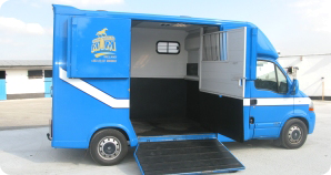 Horseboxes that carry from 2 horse to eleven horses